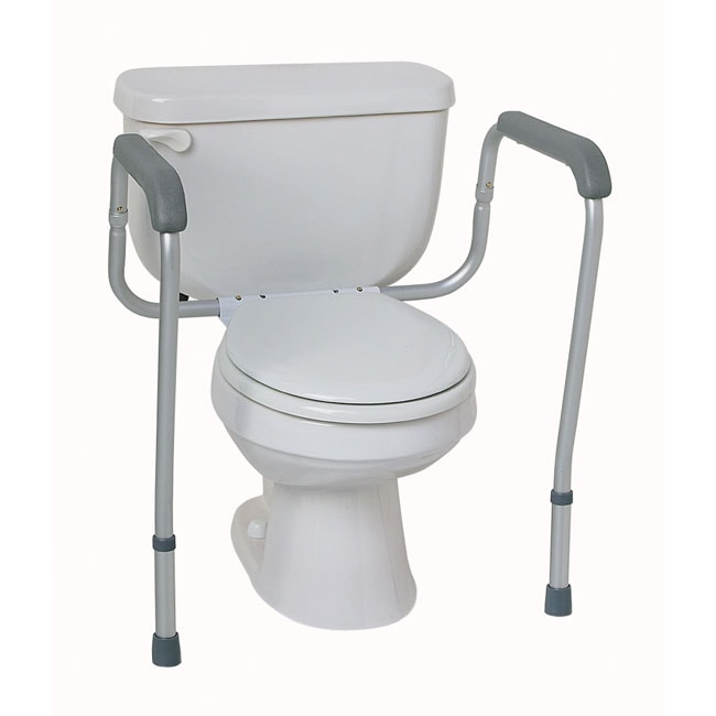 Medline Toilet Safety Rails Overstock Shopping Great