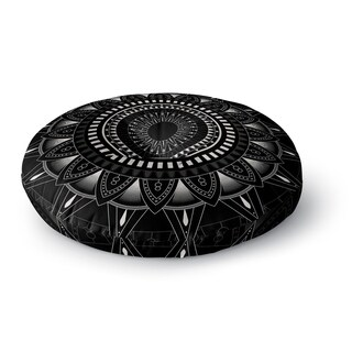 Kavka Designs Mandala Black/White Floor Pillow