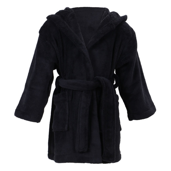 Simplicity Children  x27 s Hooded Plush Velvet Robe with Pockets. Click to  Zoom 47bad992b