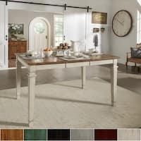 Elena Solid Wood Extendable Counter Height Dining Table by iNSPIRE Q Classic