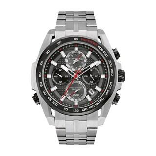 Bulova Men's Precisionist Stainless Chronograph Bracelet Watch