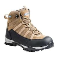 Men's Dickies Escape 6in Steel Toe Hiker Work Boot Brown Suede/Leather/Mesh