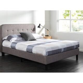 Priage Upholstered Curved Platform Bed