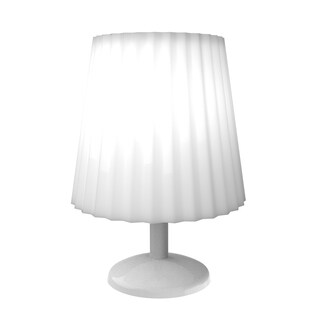 Touch Sensor Lamp- Dimmable, Battery Operated LED Light by Windsor Home (White)