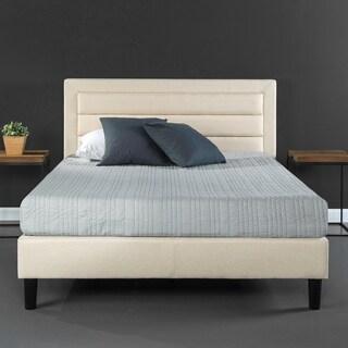 Priage Upholstered Horizontal Detailed Platform Bed