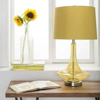 Palm Canyon Solana Solid Yellow Bray Table Lamp