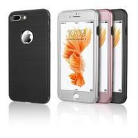 Iphone 8 / 7 Plus The Capsule Full Cover Hybrid Silk Tpu W/ Pc Case