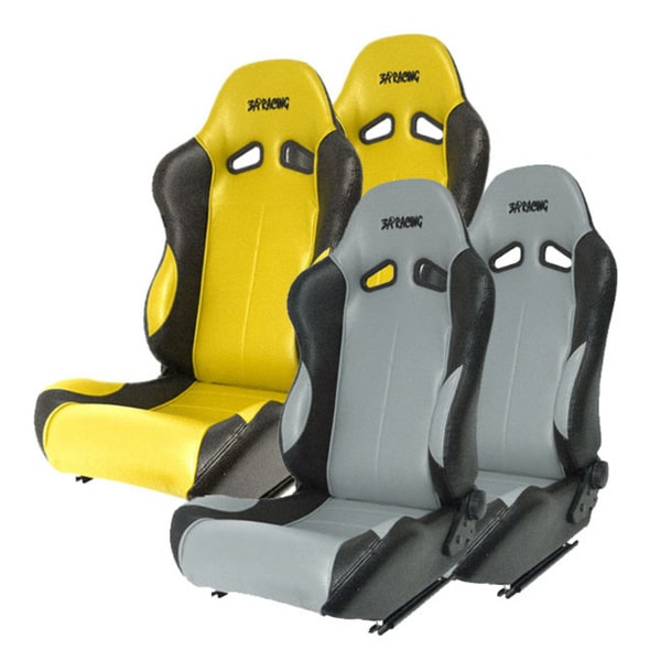 3a Racing Reclineable Vinyl Racing Seat L R Overstock