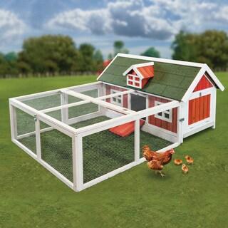 Little Red Hen Chicken Barn