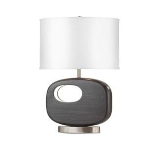Nova Offset Reclining Table Lamp, Charcoal Gray