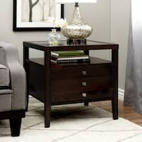 Jasper Laine Brown Contemporary Aristo Halifax Side Table