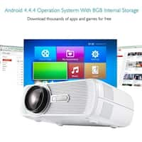 Home Video Projector Support WIFI with AV/VGA/USB/SD/HDMI/TV Input