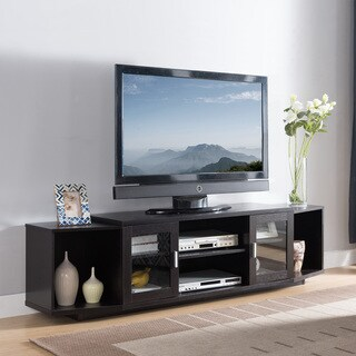 Furniture of America Baselle Contemporary Multi-storage 72-inch TV Stand