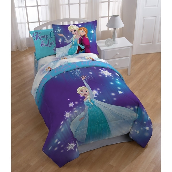 Disney Frozen Bedding With Elsa And Anna Tktb
