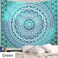 Bohemia Printing Tapestry Wall Hanging Bedspread Dorm Decor Beach Towel Yoga Mat