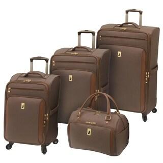 London Fog Kensington 4-piece Expandable Spinner Luggage Set