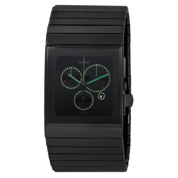 8a57c65ded24 Rado Men s  Ceramica XL  Black Ceramic Watch