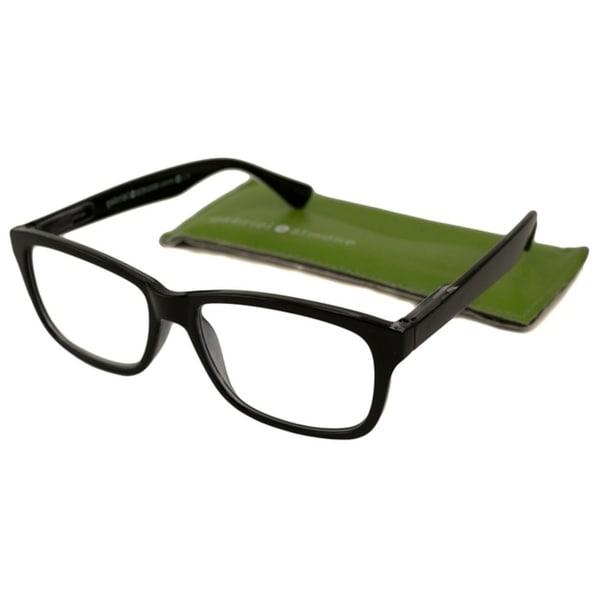 Gabriel + Simone Jules Black Unisex Reading Glasses