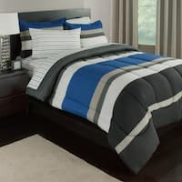Rugby Stripe Complete Bedding Set