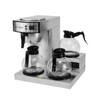 Coffee Pro CP-RLG Three Burner Low Profile Commerical Brewer
