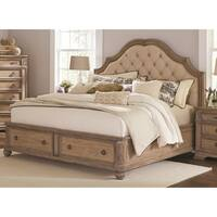 Ilana Traditional Antique Linen Bed