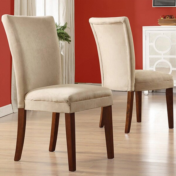 Inspire Q Parson Classic Upholstered Dining Chair Set Of