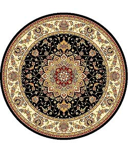 Hand Tufted Braided Jute Star Rug 8 Hexagon 12126294