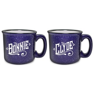 Bonnie & Clyde Camp Mug (Set of 2) - N/A