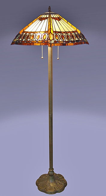 Amberjack Tiffany Floor Lamp Overstock Shopping Great