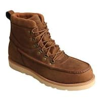 Men's Twisted X Boots MCAAW01 Casual Work Boot Distressed Saddle Leather