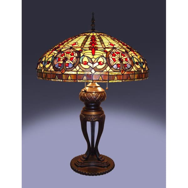 Tiffany Style Emperor Table Lamp 10554895 Overstock