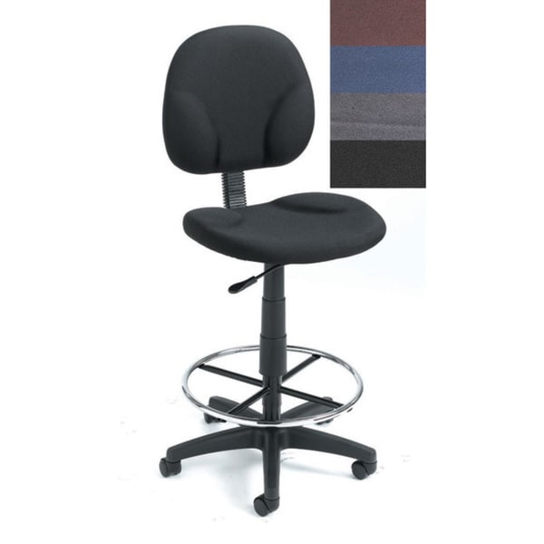 Boss Deluxe Drafting Stool 10580820 Overstock Com