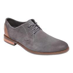 Men's Rockport Style Purpose Plain Toe Oxford Castlerock Suede