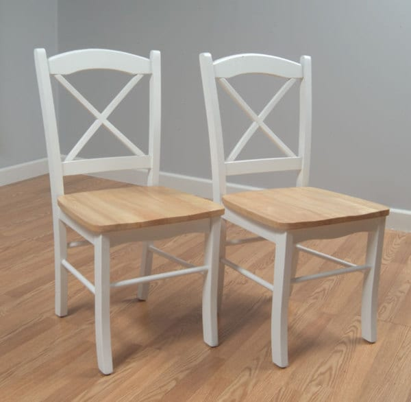 Country Cottage Dining Chair Set Of 2 Chairs Kitchen