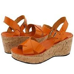 Kork Ease Ava Ii Orange Patent Sandals Size 5 12392638