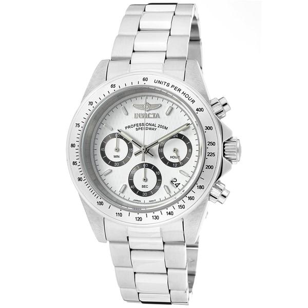 Invicta Men's 9211 Speedway Steel Chrono Watch - 924665 - Overstock.com Shopping - Big Discounts ...