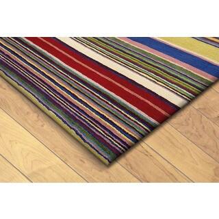 Skye Monet Multi Stripe Rug 5 2 X 7 7 15150001
