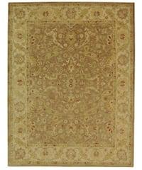 Safavieh Handmade Antiquities Treasure Brown/ Gold Wool Rug - 8'3 x 11'