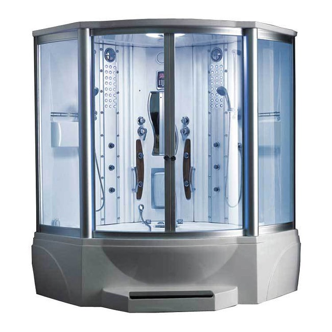 608 Steam Shower With Whirlpool Tub Overstock Shopping