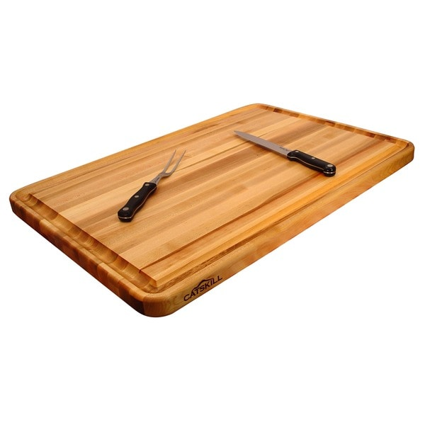 Professional Style Large Reversible Cutting Board w/ Juice Groove