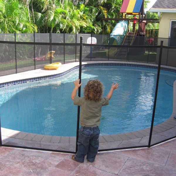 Water Warden Pool Safety Fence 10825632 Overstock Com