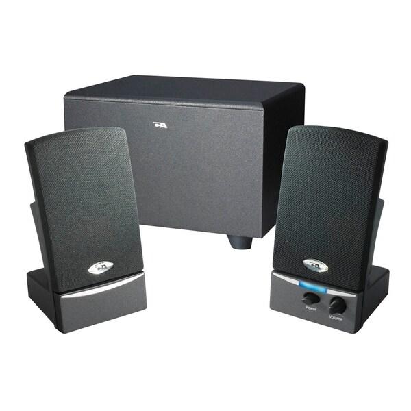 cyber acoustics ca 3001 2 1 speaker system 8 w rms. Black Bedroom Furniture Sets. Home Design Ideas