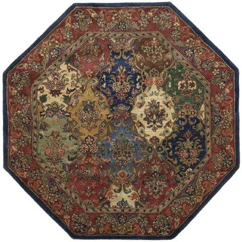 Hand Tufted Wool Area Rug 8 Octagon 10864998