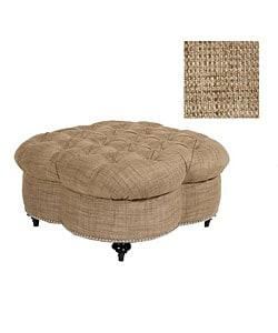 Jar Designs Clover Mushroom Ottoman Overstock Shopping