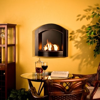 Indoor Fireplaces | Overstock.com: Buy Decorative Accessories Online - Round In Wall Gas Fire