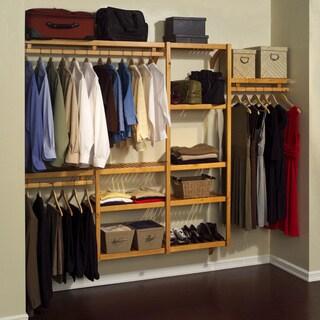 John Louis Standard Solid Wood Closet System 11051236