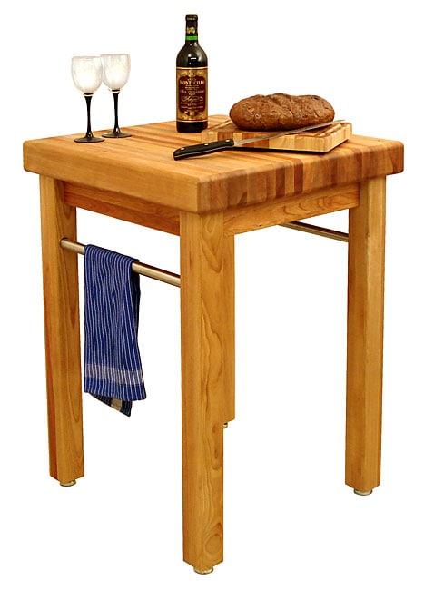 Catskill Craftsmen French Country Butcher Block Table - Overstock Shopping - Big Discounts on ...
