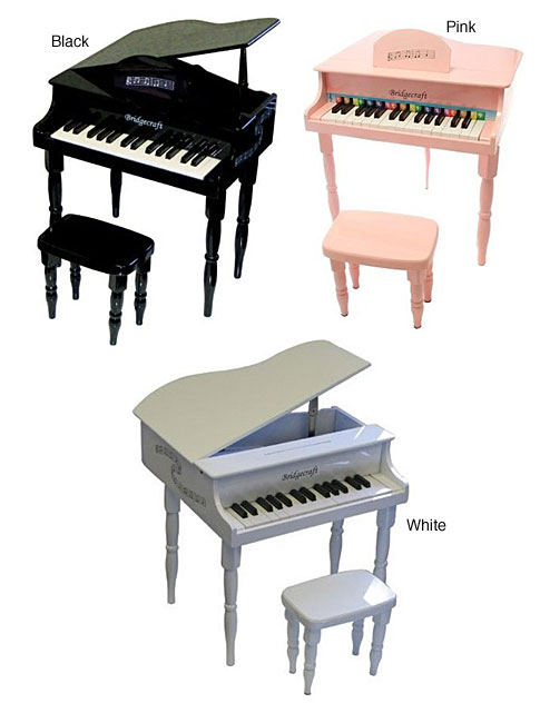Child S Baby Grand Piano 11074877 Overstock Com