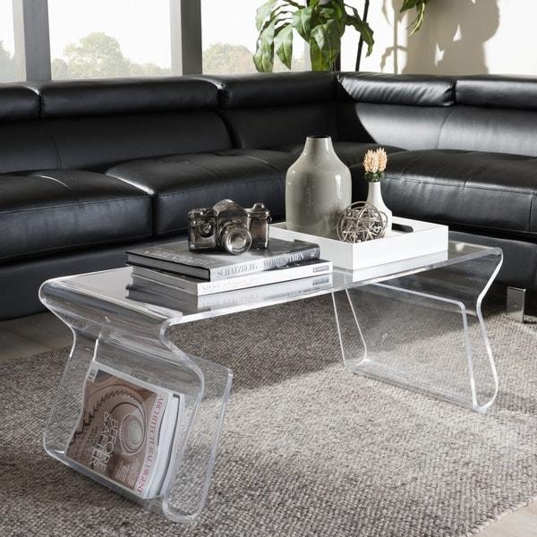 Adair Acrylic Coffee Table