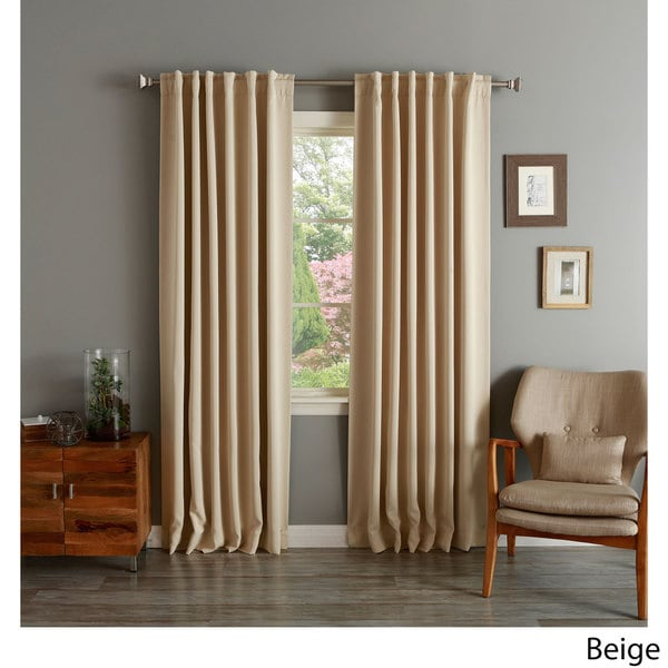 Aurora Home Insulated Thermal Blackout 84 Inch Curtain
